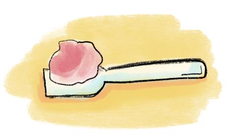 Cucharita helado